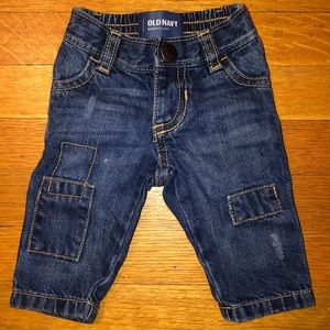 Old Navy Baby Boys Skinny Jeans Size 0-3M